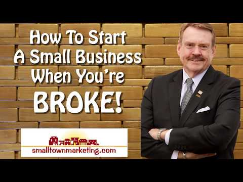 [Podcast] How to Start A Small Business When You're Broke!