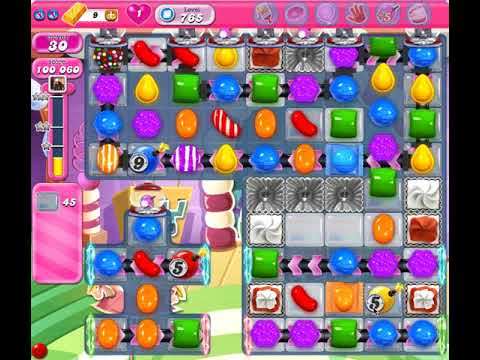 Candy Crush Level 765 (no boosters)