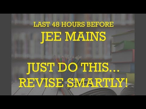 JEE Mains 2018 | Most Repeated Question | Revise Smartly