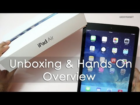 iPad Air Unboxing & Hands on Overview
