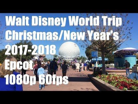 Walt Disney World Vlog #2 | Christmas/New Years 2017-2018 | Epcot | 1080p 60fps