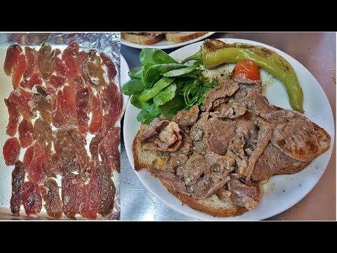 Turkish Doner Kebap Lamb Meat Homemade Baking Recipe