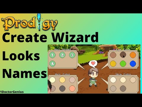 Prodigy Math Game - Grade 5 - Video 1 (How to create, name your wizard & to solve Level 1 at Academy