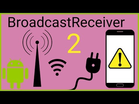 BroadcastReceiver Tutorial Part 2 - DYNAMIC RECEIVERS - Android Studio Tutorial