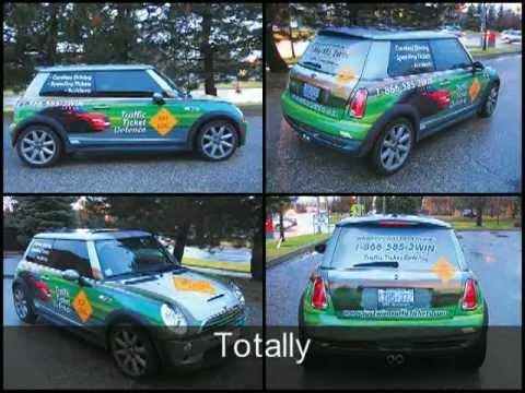 Car Wrap Advertising - Cute Small Car Designs