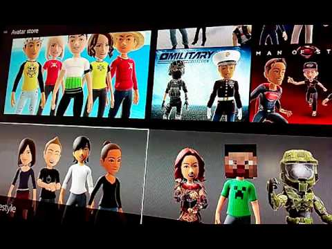(Patched)......Avatar ...Xbox one... How to get free avatar items and clothes