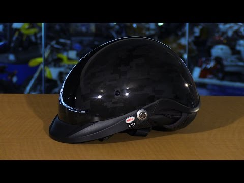 Bell Helmets Pit Boss Black Ops Camo Motorcycle Half Helmet Review
