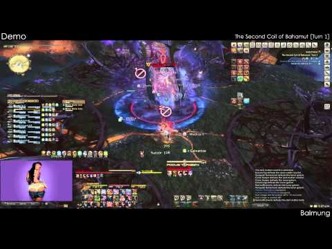 FFXIV [Demo] The Second Coil of Bahamut [Turn 1/Turn 6]