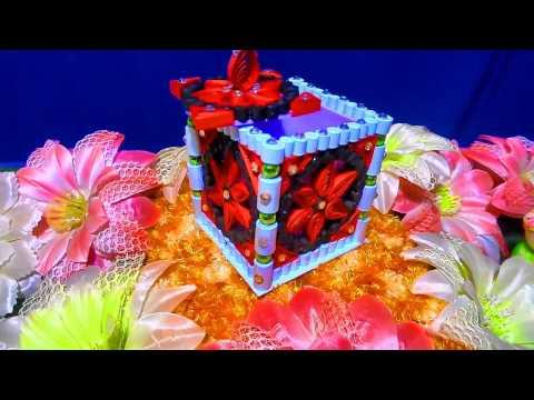 DIY Jewellery Box || Quilling Jewellery Box
