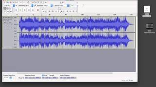 Audacity Mix and Render - Quick Mix - How To - Full Version