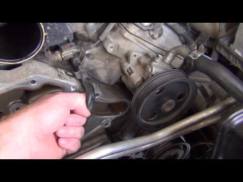 2005 Jeep Grand Cherokee 5.7L Limited - Water Pump / Tensioner Replacement