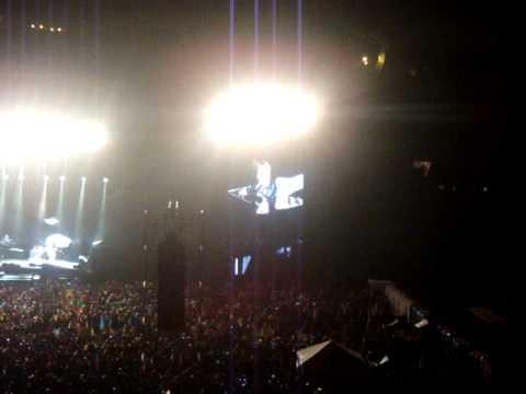 Paul McCartney se apresentou pela primeira vez no Equador