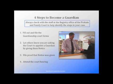 MGA Massachusetts Guardianship of a Minor - Part 2