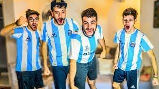 Reacciones de Amigos   Argentina vs Qatar   Copa America 2019