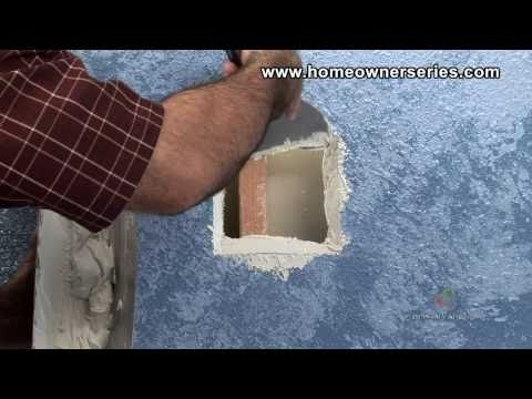 How to Fix Drywall - Wall Stud Patch - Drywall Repair - Part 2 of 2