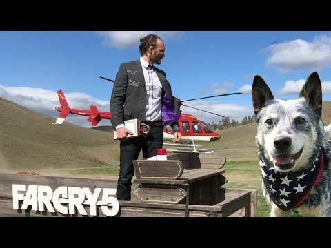 Far Cry 5 Adventure Challenge - ATV Ride, Crossbow Training, Save Boomer Whisky tasting