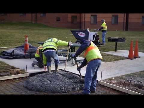 Demolition and Installation of Concrete Sidewalk at George Mason University