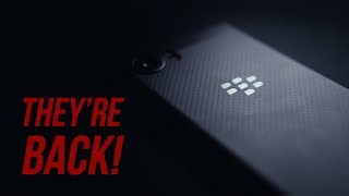 Back & Better Than Ever?  Blackberry KeyONE Black Edition Review!