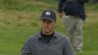 Highlights: Spieth adventurous second-round 67 at the 2019 Open Championship