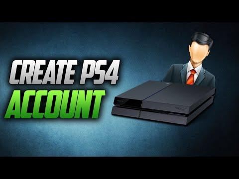 How To Create A PS4 User Online Account | Sign Up PSN On PlayStation 4 #YouTubersOfTheMonth