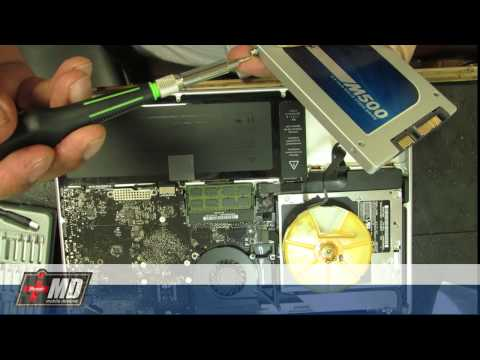 Macbook pro internal hard drive replacement with SSD