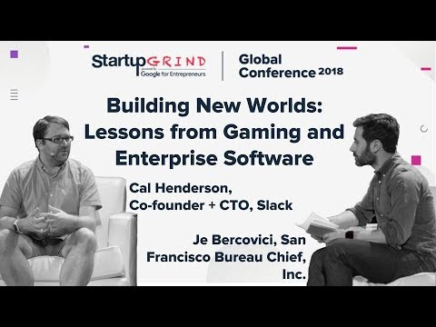 Building New Worlds: Lessons from Gaming and Enterprise Software