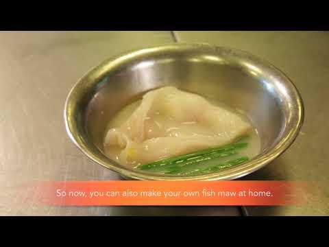 TungLok Heen - Braised Kühlbarra Fish Maw Steak