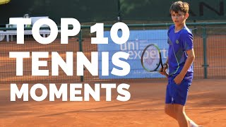 Top 10 Tennis Moments 2018  - Lucian edition