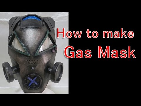 How to make a gas mask,  Play Station 4 controller like - Use this for Halloween and Steampunk