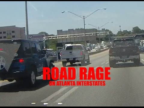 Road Raging F-150 driver wildly changes lanes over and over  GA - RAU3987