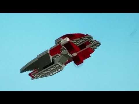 Lego F-chopper tutorial build video