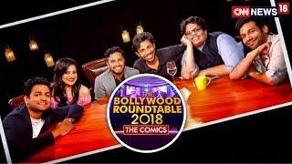 The Comics Roundtable 2018 with Rajeev Masand | Tanmay Bhat | Kanan Gill | Abish Mathew | CNN News18