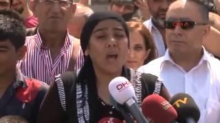 Tutuklu Bayrakçının Eşi Akp Mitinginde örgüt Değildik  Kocam örgüt Kurdu 7 Kişilik örgütüz
