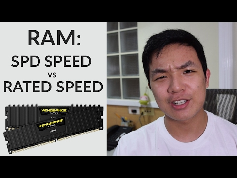 RAM: SPD vs Rated Speed Performance Test (Novebench, Gaming, Premiere Pro Export Times)