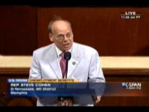 Cohen Discusses Unemployment Benefits