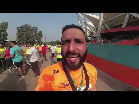 How(not) to Run a 5km race | Vlog | IDBI DELHI  MARATHON| F junction