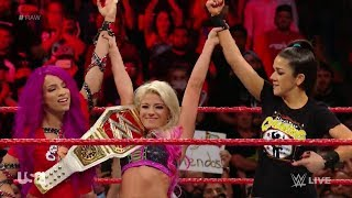 Alexa Bliss V Nia Jax Bayley Returns Sasha Banks WWE RAW