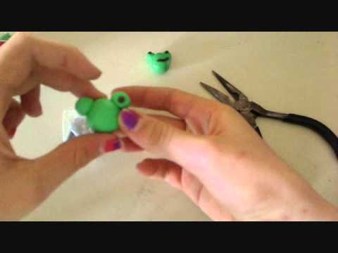 How to Make a Polymer Clay Frog