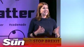 Jo Swinson says Corbyn isn't the person to lead an 'emergency govt'