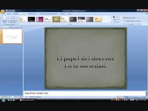 Cómo insertar WordArt en PowerPoint