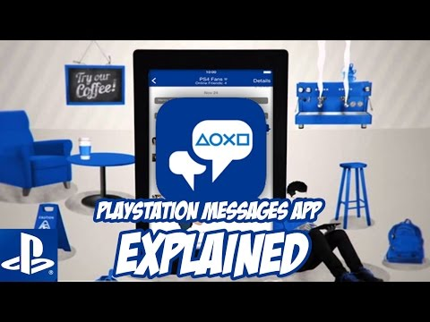 NEW PlayStation Messages App?!!??