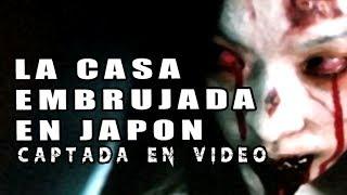Casa Embrujada en Japón Captada en Vídeo (videos miedo) l Pasillo Infinito Documentos