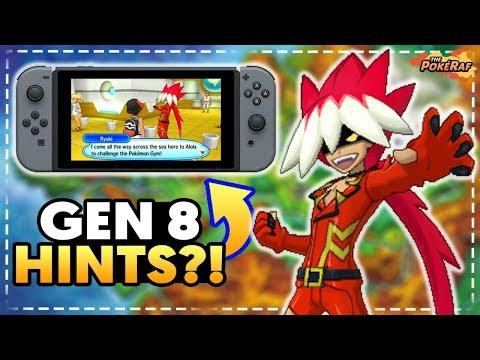 BIG SECRET HINTS! Ryuki HINTS Towards Generation 8 Pokémon Game + Spain Region! (Nintendo Switch)