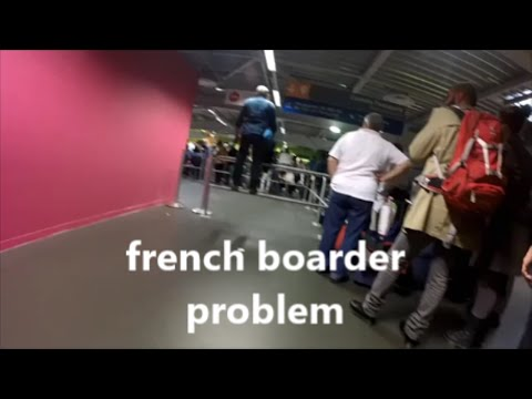 FILIPINA VISA  PROBLEM |  FRANCE DAY #1