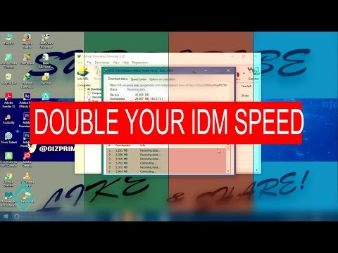 How to Double IDM Download Speed on Windows 7/8/10