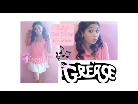 Frenchy ❤Grease DIY Halloween Costume Hair & Makeup❤