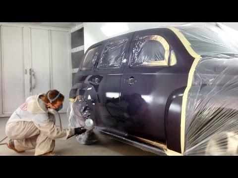 Chevrolet HHR Paint Repair - Blending Base/Clear