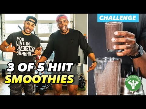 HIIT Smoothie Challenge 3: MIA Fitness Challenge & Dark Chocolate Mint Smoothie