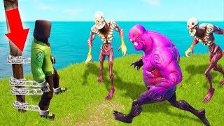 BREAK The CHAINS To ESCAPE From ZOMBIES! (Fortnite)