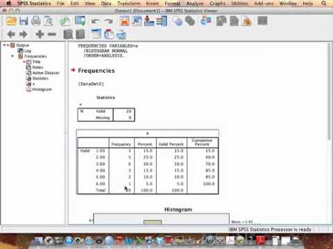 Frequency Distribution SPSS